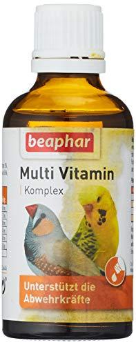 beaphar Multi Vitamin Komplex für Vögel, 50 ml