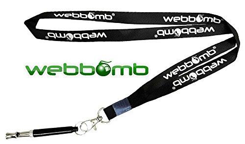 webbomb® Hochfrequenzpfeife Ultraschall Hundepfeife Ultraschallpfeife für Hunde inklusive Umhänge-Band...