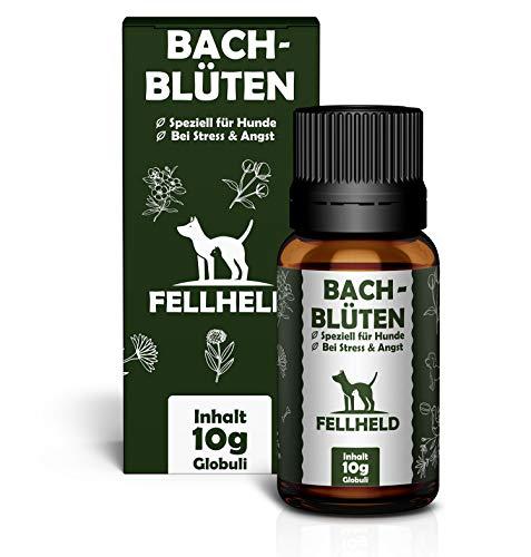 Bachblüten für Hunde - Natürliches Beruhigungsmittel - Globuli Rezeptur nach Dr. Bach zur Beruhigung...