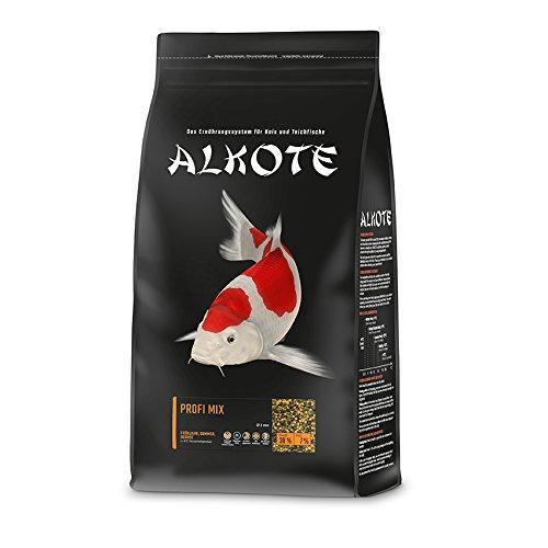 AL-KO-TE, 3-Jahreszeitenfutter für Kois, Frühjahr bis Herbst, Schwimmende Pellets, 3 mm, Hauptfutter...