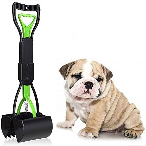 Uervoton Hundekotschaufeln, inklusive 40 Hundekotbeutel, einfach & hygienisch, Kotaufheber, 60 cm lang...