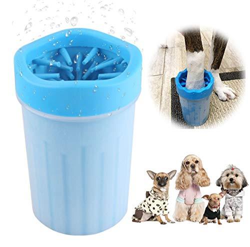 Hunde Pfotenreiniger, Hundepfoten Reiniger, Haustier Pfotenreiniger, Hundepfote Fußreinigungsbürste,...