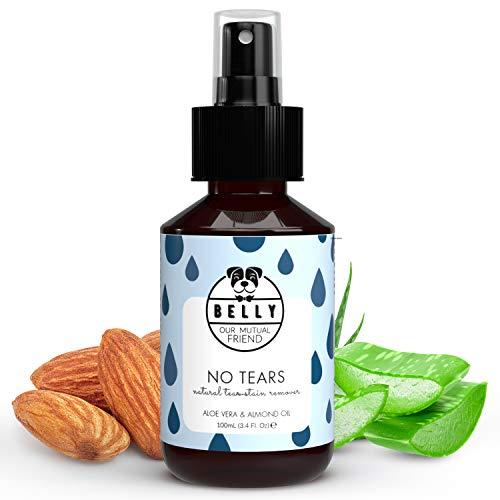 BELLY Tränenfleckentferner Hundespray - Natürliches Augenpflege Hunde Spray zur Hunde Augenreinigung,...