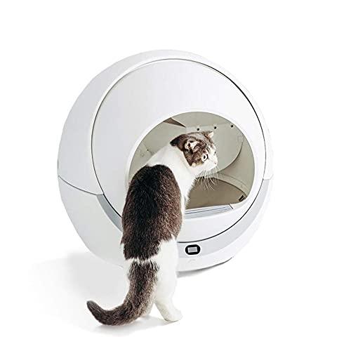MOME Keine Schaufel Automatische Reinigung Katzentoilette Extra Groß Automatische Desodorierung...
