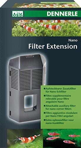 Dennerle Nano FilterExtension - Aufsteckbarer Zusatzfilter für Nano Eckfilter und Nano Eckfilter XL
