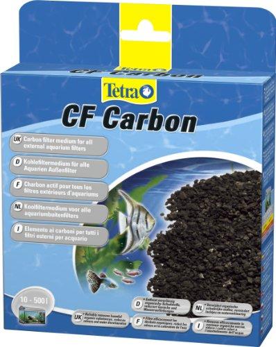 Tetra CF Carbon Kohlefiltermedium für 10-500 L Aquarien- Filtermaterial für die Tetra EX Außenfilter