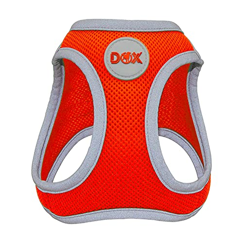 DDOXX Brustgeschirr Air Mesh, Step-In, reflektierend | viele Farben | für kleine, mittlere &...