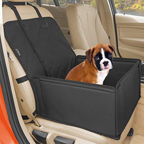 Extra Stabiler Hunde Autositz - Hochwertiger Auto Hundesitz für kleine bis mittlere Hunde - Verstärkte...