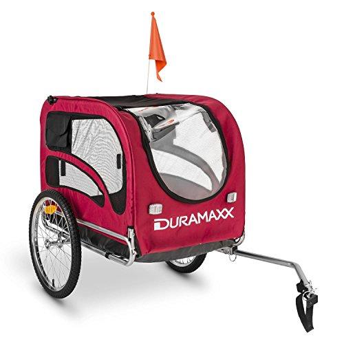 Duramaxx - King Rex, Fahrradanhänger, Hundeanhänger, Lastenanhänger, kleine bis mittelgroße Hunde,...