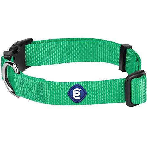 Blueberry Pet Hundehalsband Klassisch Einfarbig 1,5 cm S Basic Polyester Nylon Hundehalsband Langlebig -...