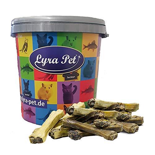 Lyra Pet® 50 Stück Kauknochen mit Rinder Pansen gefüllt ca. 15 cm Kausnack Kauartikel Rohleder...