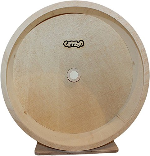 Getzoo Ø 42 cm Premium Holzlaufrad (Ø 40,8 cm Innen, Höhe 44-53cm)
