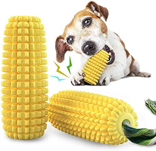 Kauspielzeug für Hunde, unverwüstlich, quietschend, für Welpen geeignet, Zahnreinigung, interaktives...