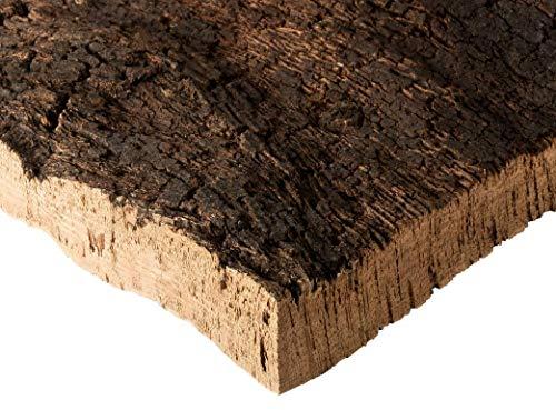 Kork Rinde | Kork Platte | Kork Stücke aus Naturkork der Korkeiche | 30 x 40 x 3 cm | unbehandelt &...