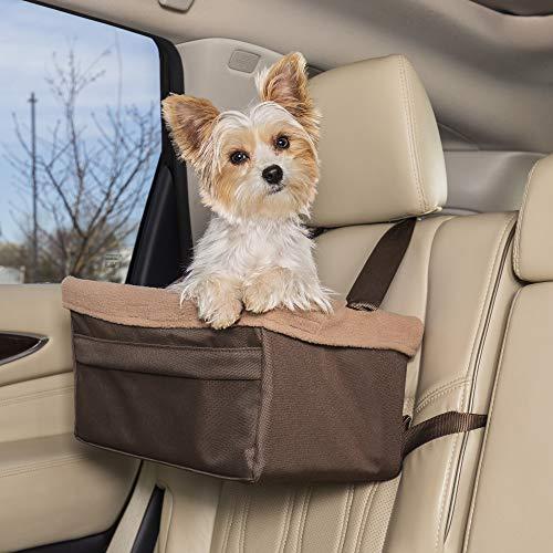 PetSafe Happy Ride Sitzerhöhung für Hunde, für Autos, LKWs und SUVs, einfach zu verstellender Gurt,...