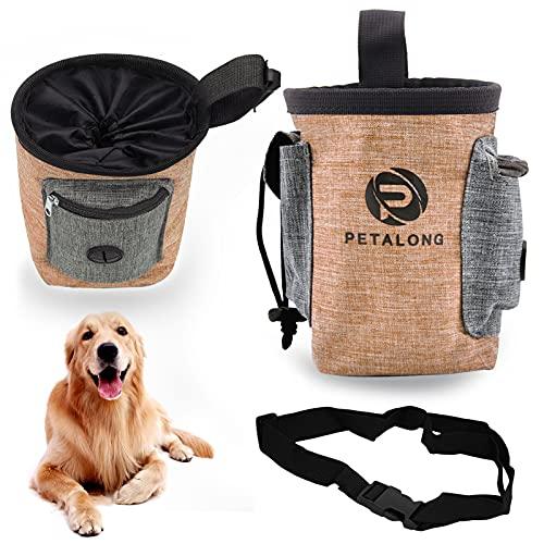 Xionghonglong Futterbeutel für Hunde,Hunde Leckerlie Tasche,Wasserdicht Futtertasche,Leckerlibeutel für...