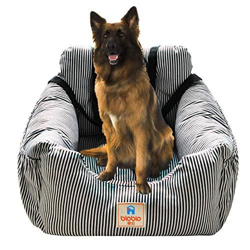 Acopsh Hunde Autositz, Waschbar Auto Hundebett, rutschfeste Katze Reisen Front Booster Sitze mit...
