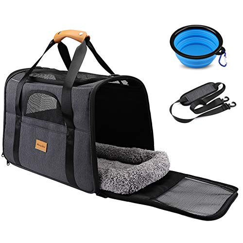 morpilot Faltbare Hundetragetasche Katzentragetasche, Haustiertragetasche, Transporttasche Transportbox...