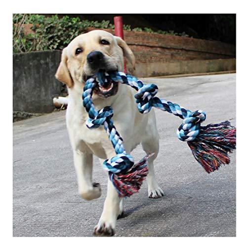 DIY House Hundespielzeug aus Seil für Starke große Hunde, 91 cm, 5 Knoten, Seil für Aggressive Kauen,...