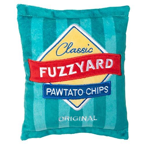 FuzzYard Pawtato Chips Hundespielzeug aus Plüsch
