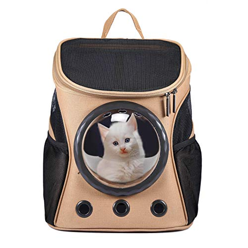 HAPPY HACHI Innovative Traveler Bubble Rucksack Transportboxen Airline Travel zugelassen Carrier...