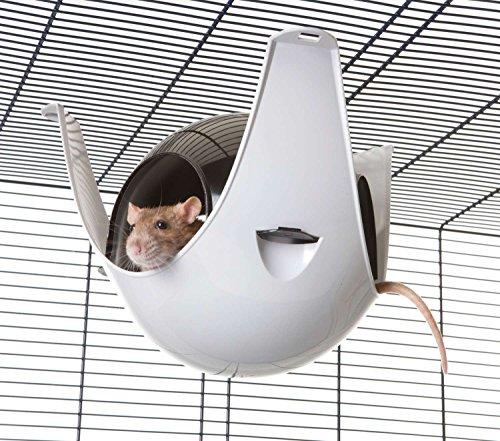 PETGARD Nagerhaus Hängehaus Sputnik XL - 29 x 26 x 19 cm