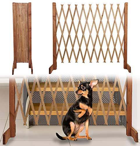 Treppenschutzgitter für Hunde - Absperrgitter Hund - Türschutzgitter - Hundeschutzgitter -...