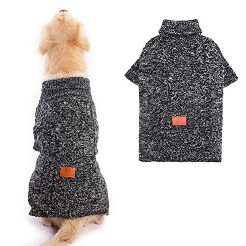 KOOLTAIL Warmer Hundepullover für den Winter