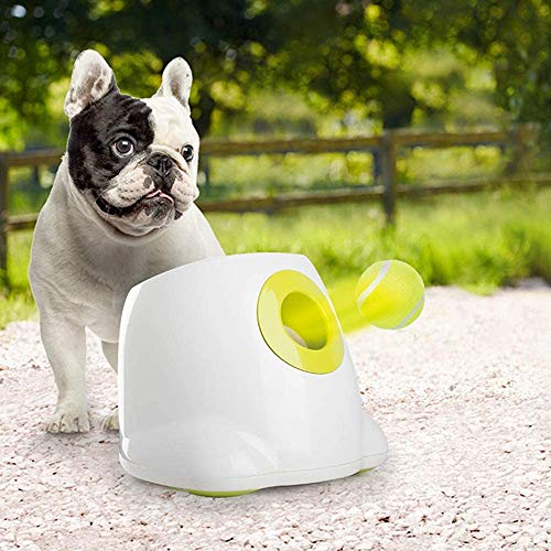 ALL FOR PAWS Hyperfetch Ultimate Throwing Toy Interactive Automatic Ball Launcher Dog Toy, Tennis Ball...
