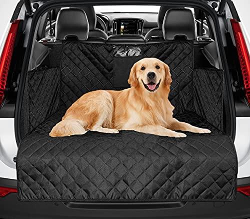 Universal Kofferraumschutz für Hund - Reißfeste&Wasserdichter Quilted Kofferraumdecke Hundedecke Auto...