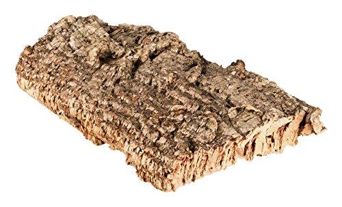 Korkrinde Korkstück, 30 x 15 cm (Naturkork, Zierkork) gereinigt & desinfiziert – ideal für Haustiere...