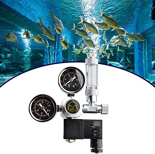 InLoveArts CO2 Druckminderer,Aquarium CO2 Regulator mit Magnetventil/Rückschlagventil/Blasenzähler,CO2...