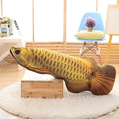 Galapare Katzenspielzeug, Realistische Plüschsimulation Puppenfisch, lustige interaktive Haustiere Kauen...