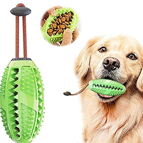 Zahnbürsten-Stick, Hundespielzeug Kauspielzeug, Hundespielzeug Ball Leckerli-Spender für Hunde...