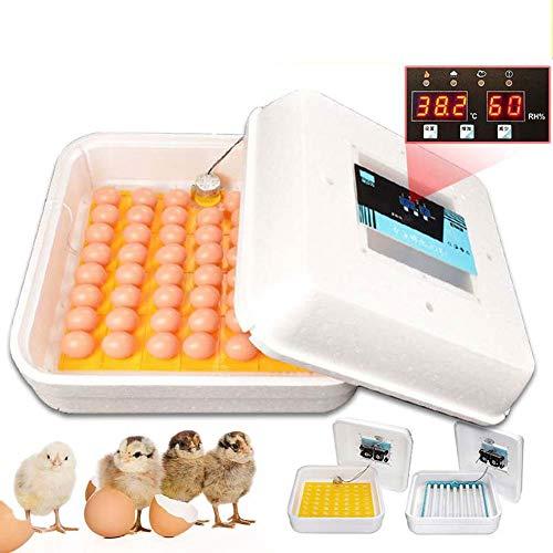 WANGIRL Digital Schaum Brutmaschine Vollautomatisch Brutkasten Eier for Hühner Motorbrüter Hühner...