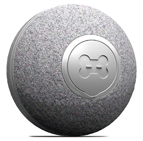 DIIBRA Mini Ball 2.0 by cheerble - Katzenspielzeug elektrisch klein wie EIN Tischtennisball mit...