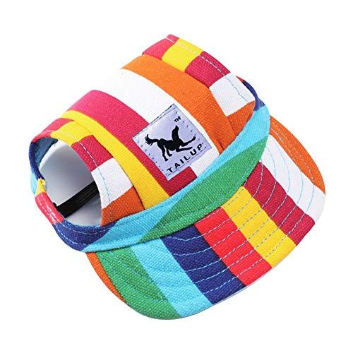 Xjoe Baseballkappe für kleine Haustiere, Sommer, Outdoor, Hund, Katze, Freizeit, Sonnenschutz, Hut,...