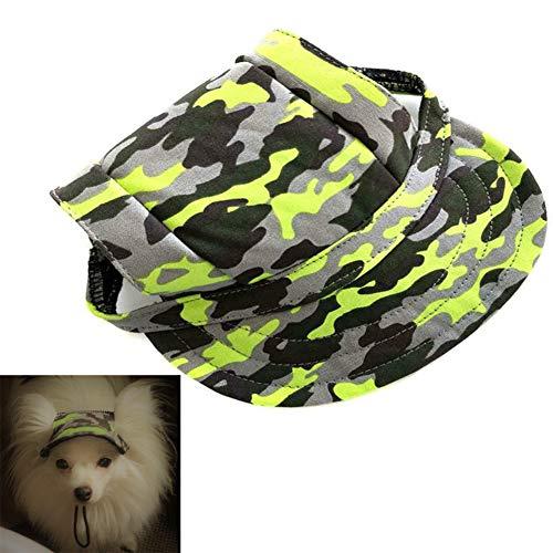 AROYEL Baseball-Kappe für Hunde, aus Segeltuch, Sonnenschutz für große und kleine Haustiere, Größe...