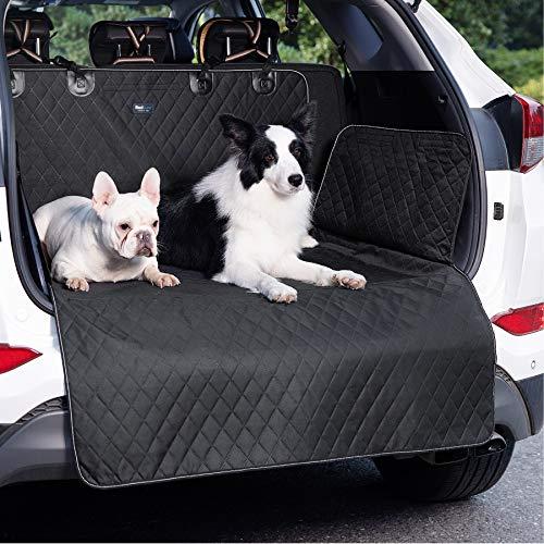Bedsure Kofferraumschutz Hund mit Seitenschutz - wasserdicht und rutschfest Kofferraum schutzmatte,...