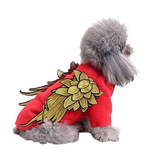 Schiffe aus Deutschland, TriLance Baumwolle Haustier Hund Kleidung Kostüme für Kleine Hund Welpen Katze...