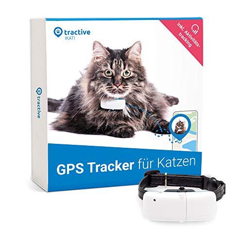 Tractive GPS Tracker für Katzen mit Aktivitätstracking - Leichter und wasserdichter Peilsender mit...