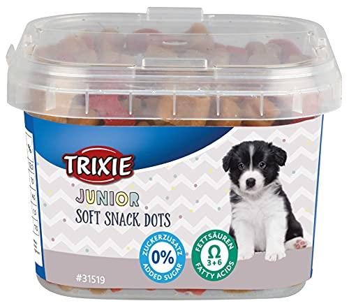 TRIXIE 31519 Junior Soft Snack Dots mit Omega3, 140 g