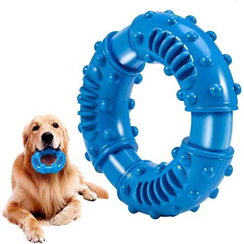 Ultra-haltbares Hunde Spielzeug für Starke Kauer - nahezu unzerstörbar Hundespielzeug aus natürliches...