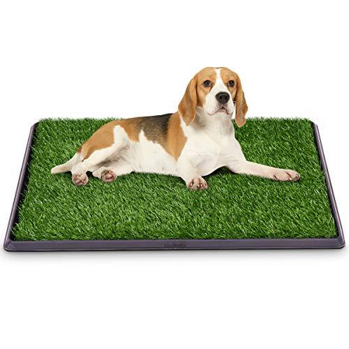 GOPLUS Hundetoilette, Welpentoilette, Trainingsunterlage für Hunde, Hundetöpfchen, Hunde Training,...