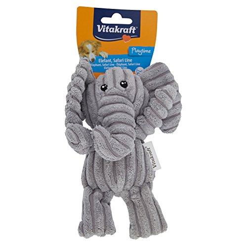 Vitakraft Hundespielzeug Elefant Plüsch-Spielzeug für Hunde