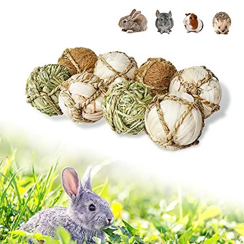 YUNXANIW Kaninchen Spielzeug, Hamster Spielzeug, Meerschweinchen Zubehoer, Hamsterkugel, Nager Zubehör,...