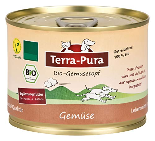 Terra Pura Bio-Hundenassfutter Gemüsetopf, 24er Pack (24 x 180 g)