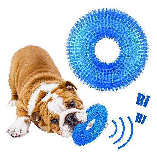 GHEART Hundespielzeug, Wasserspielzeug Hund, Kauspielzeug Hund Zahnpflege Spielzeug, Quietschspielzeug...