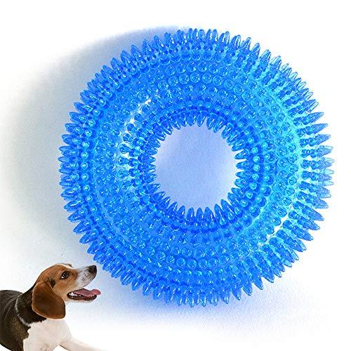Gobesty Hund Quietschendes Kauspielzeug, Hundespielzeug Kauspielzeug unzerstörbares Hundespielzeug...