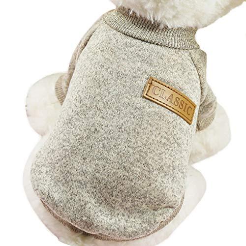 Morza Kleine Hunde Welpen-Katze-Kleidung Chihuahua-Winter-warme gestrickte Kleidung Weicher Strick...